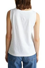 Women T-Shirts sleeveless top white